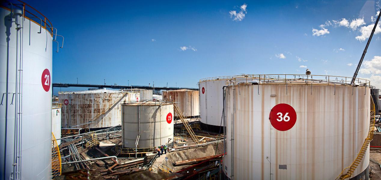 Mobil Oil Yarraville Terminal in12